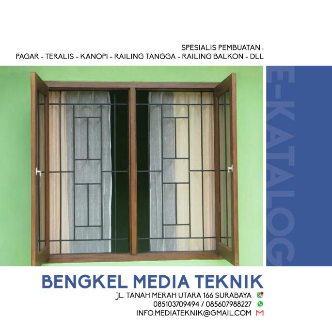 Harga Teralis Jendela Per Meter Bengkel Las Surabaya Bengkel